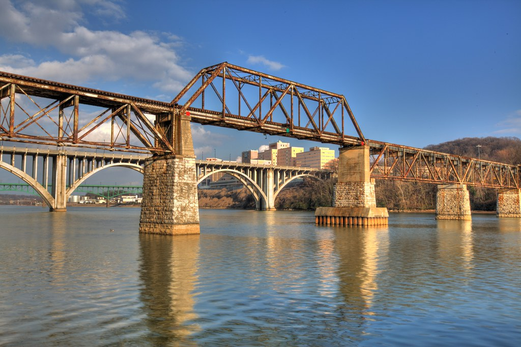 Bridges Of Knoxville Norfolk Southern Railroad Bridge
