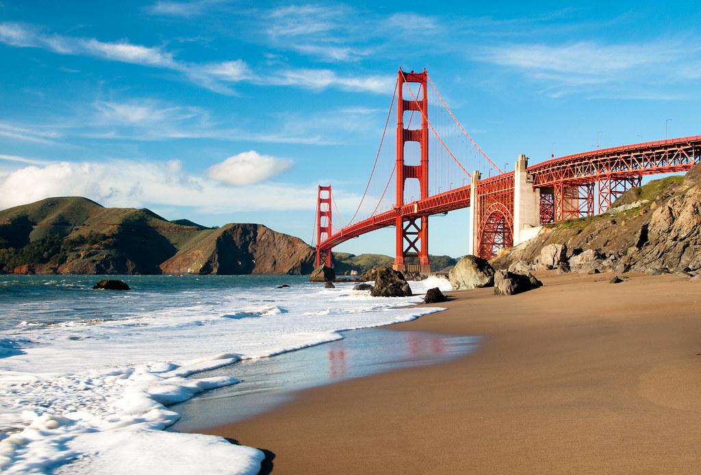 Free download Golden Gate Bridge Bridge San Francisco