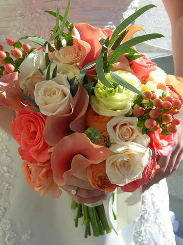 Coral Wedding Bouquet | Flickr - Photo Sharing!