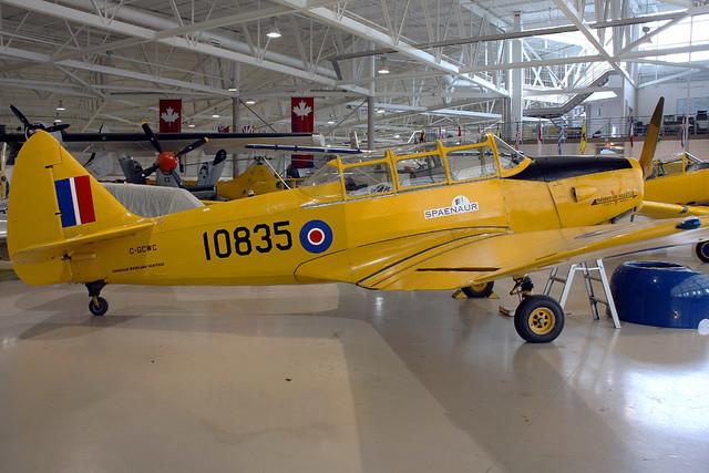 ... Royal Canadian Air Force Fleet PT-26B-M62-A3 10835 YHM 01-