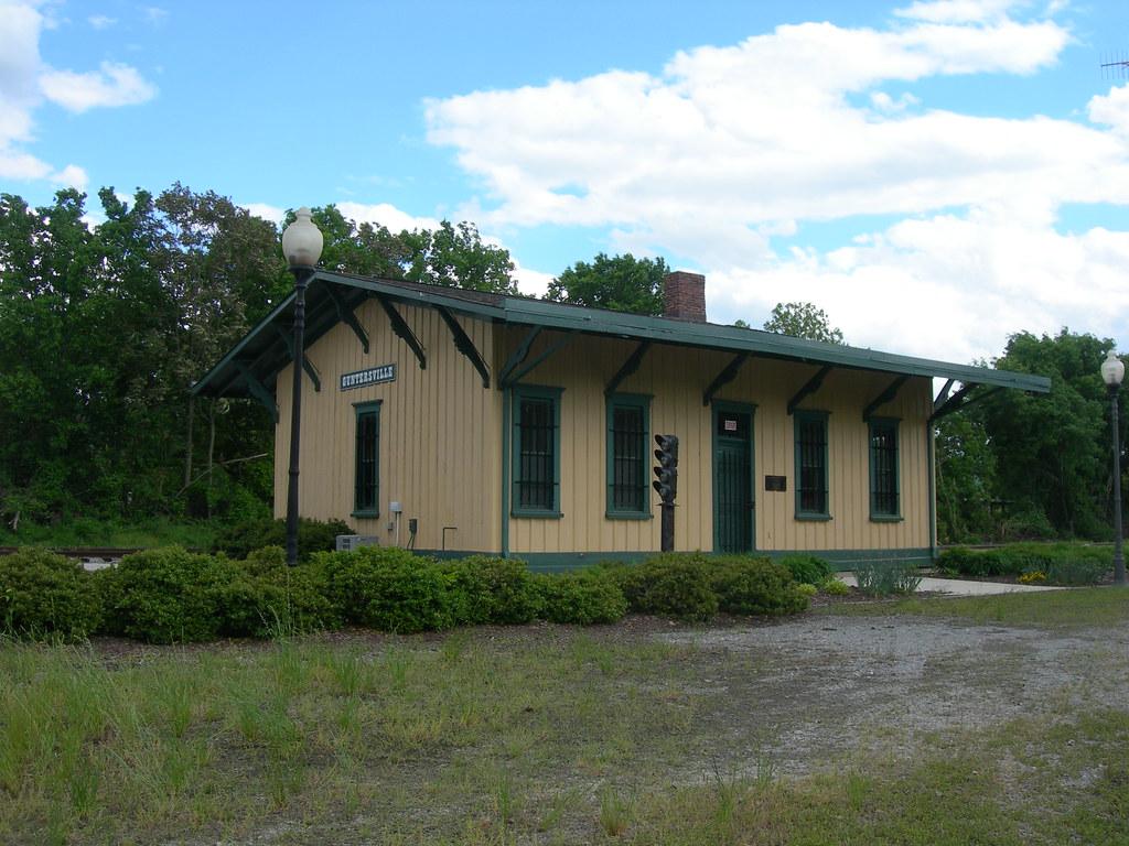 Old Guntersville Train Depot Guntersville Alabama