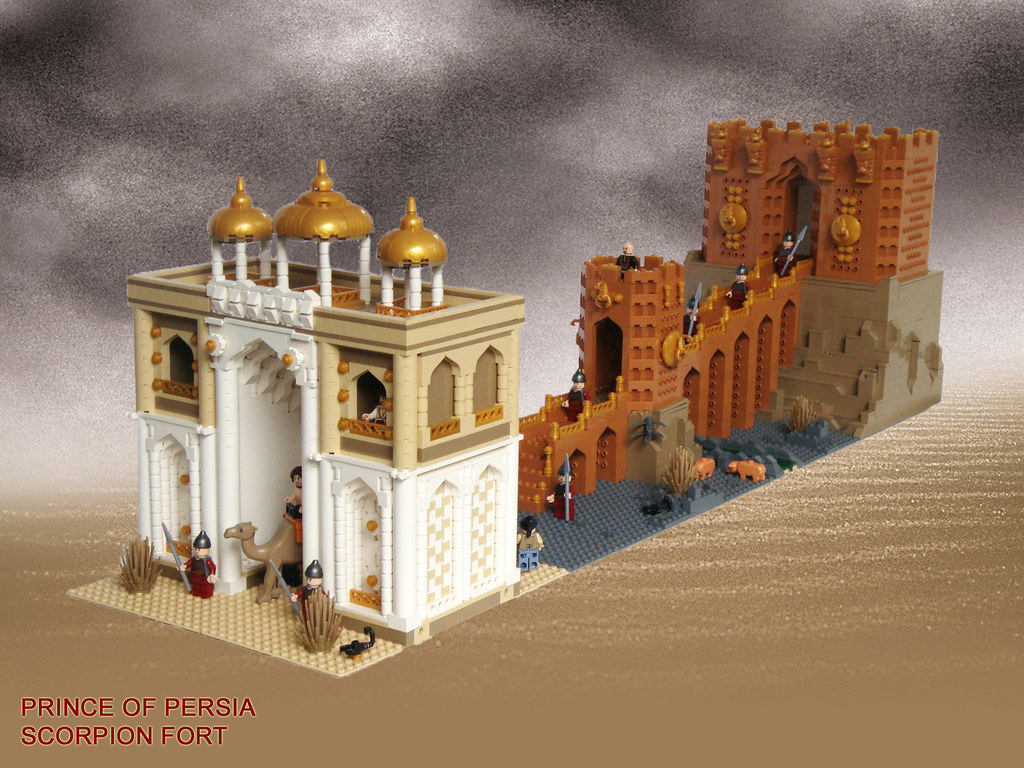 B Mobile Mountain Lion LEGO Prince of Persia ...