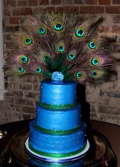 Peacock Cake My Peacock Wedding Cake Kilgore Custom
