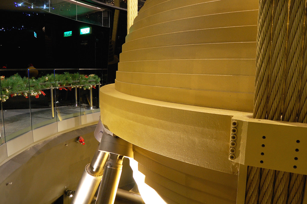 Taipei 101 39 s tuned mass damper quite a lot of new for Taipei tower ball