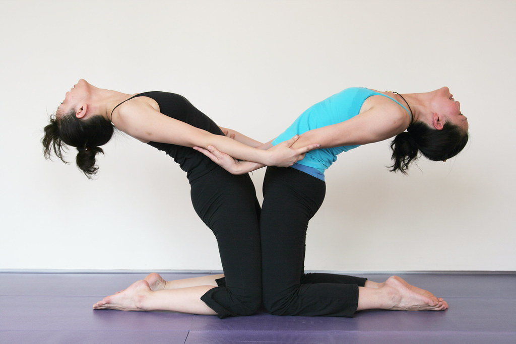 Partner Yoga Double Camel Yy Flickr
