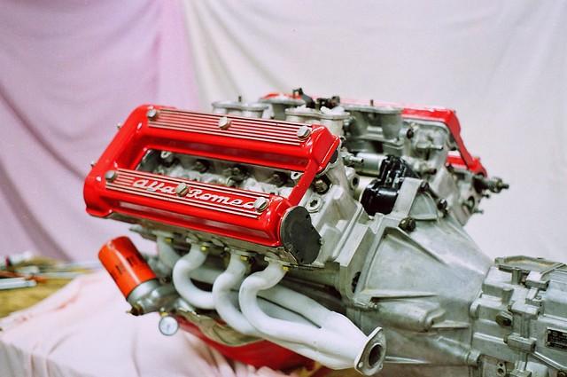 Alfa Romeo Montreal V8 engine   Detuned Tipo 33 Racing ...