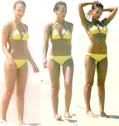 Alba bikini in jessica yellow