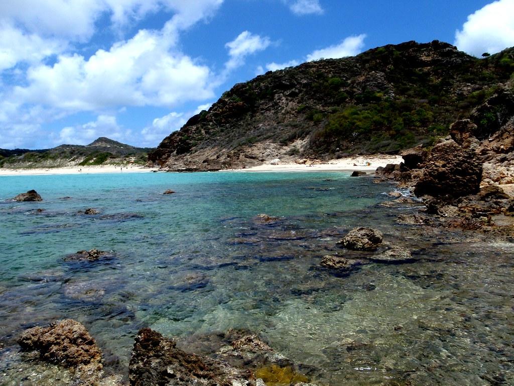 Best Island Beaches For Partying Mykonos St Barts: St Barths - Saline Beach