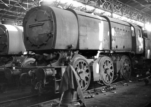 Class Q1 33030. Nine Elms shed. 3 October 1964 | I reckon ... Negative Sign