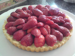 My mother's strawberry tart | by clotilde