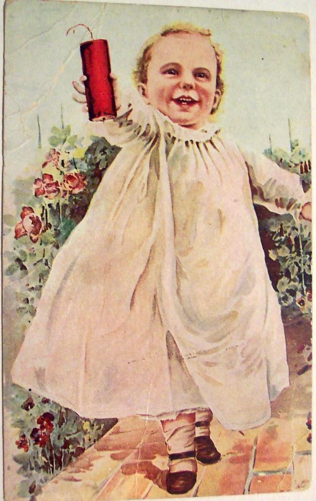 vintage postcard 4th of july dave flickr. Black Bedroom Furniture Sets. Home Design Ideas