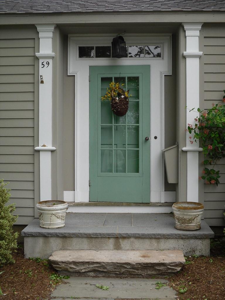 Newtown connecticut newtown connecticut doug kerr for Storm door on front door