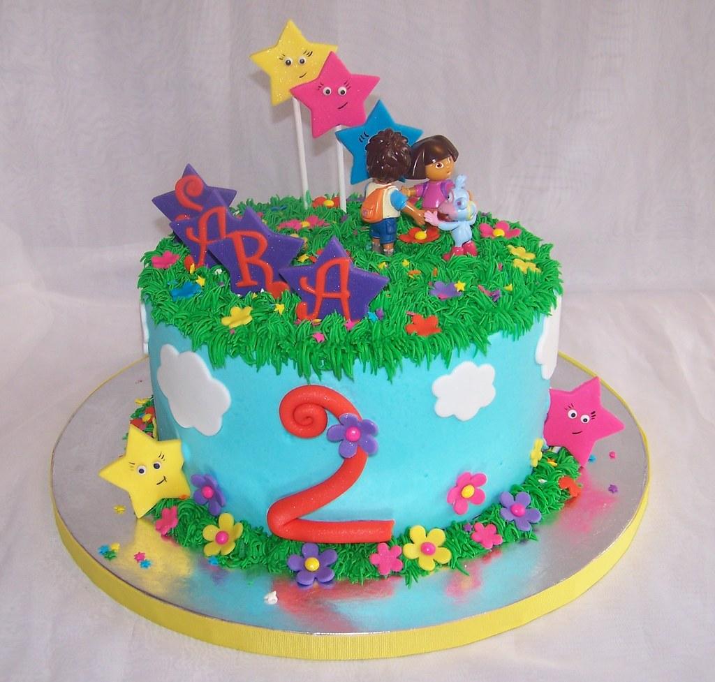 Dora Diego Cake