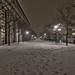 hallway of snow