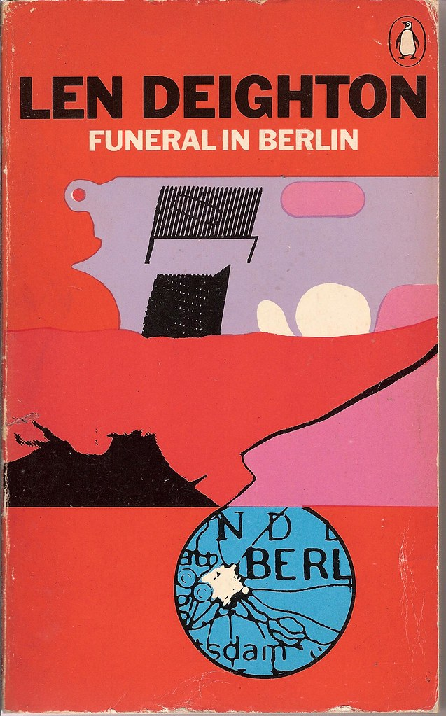 Penguin Book Back Cover : Funeral in berlin penguin book cover richard flickr