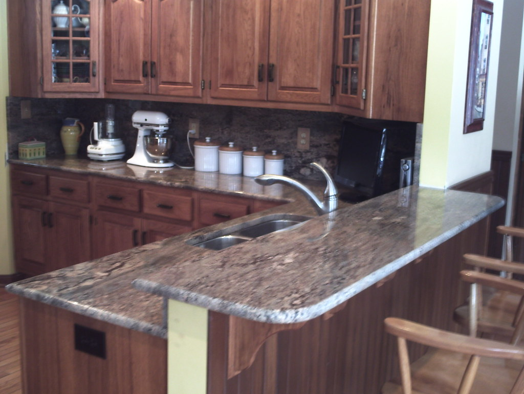 Crema Bordeaux Granite Countertop | Geriba With Full Graniteu2026 | Flickr