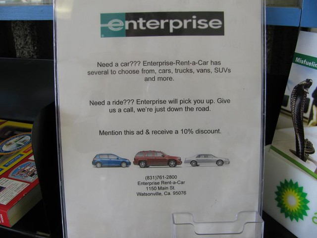 Enterprise Car Rental San Pedro Cruise Terminal