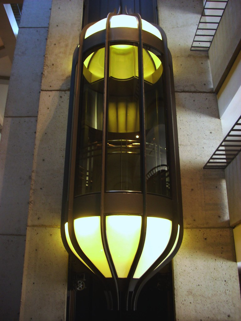 Fairmont Glass Elevator