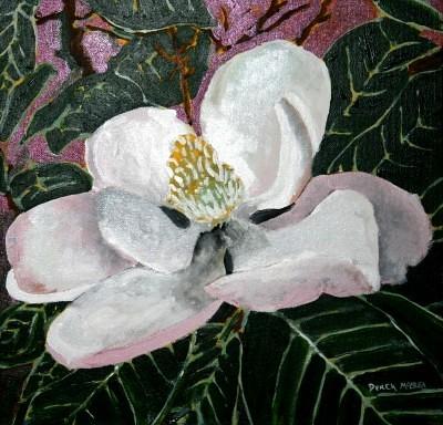 magnolia flower oil painting | magnolia oil flower ...