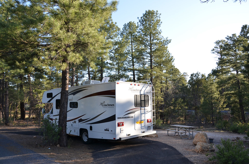 grand canyon mather campground sr 6011 mather campground. Black Bedroom Furniture Sets. Home Design Ideas