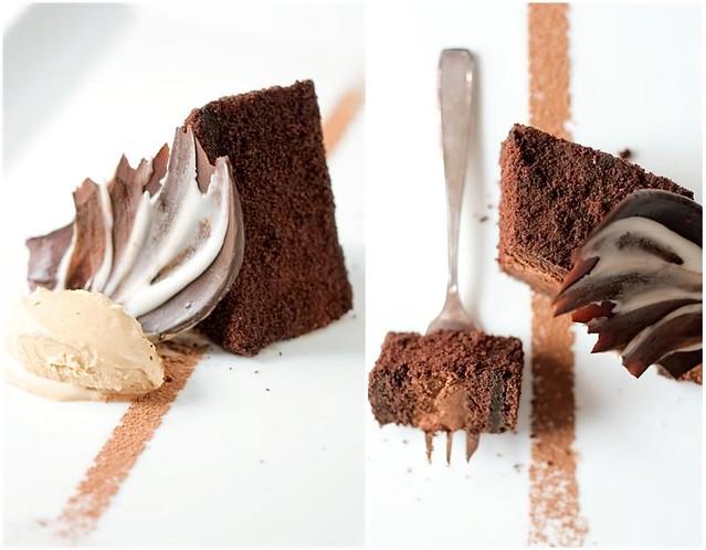 Chocolate Espresso Mousse Cake & Latte Ice Cream | Recipes ...