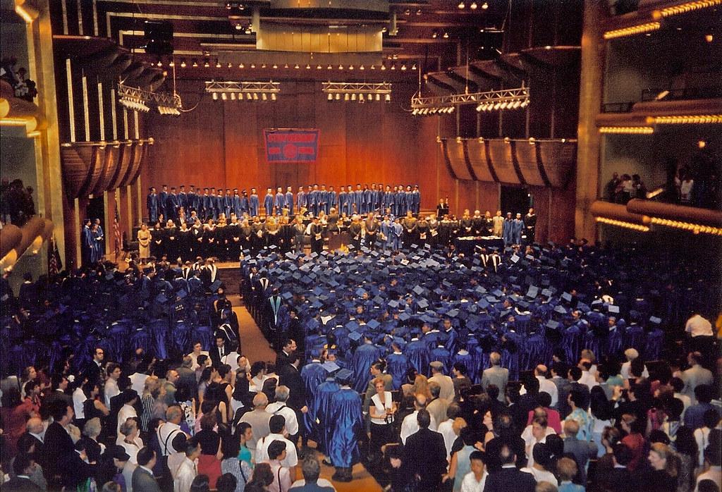 Stuyvesant High School Graduation Ceremony 1998 The