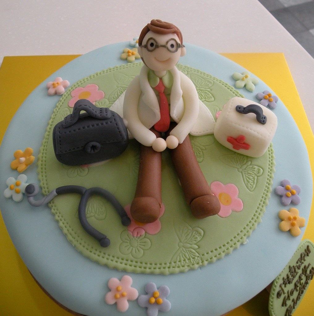 All sizes Doctors Birthday Cake Flickr Photo Sharing