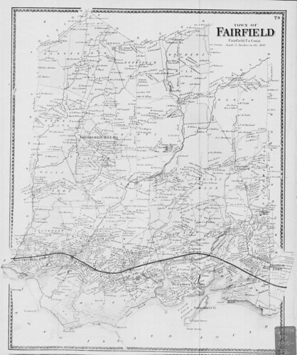 Town of Fairfield, Fairfield Co., Conn | by uconnlibrariesmagic