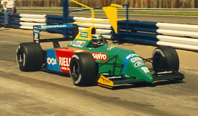Image result for 1990 benetton nannini