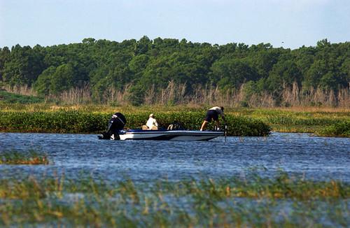 Military bass fishing tournament kissimmee on the lake for Florida lake fish