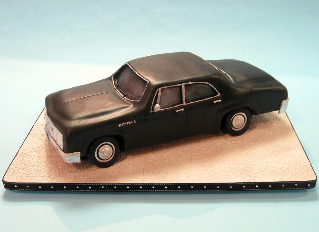 Supernatural Impala Cake
