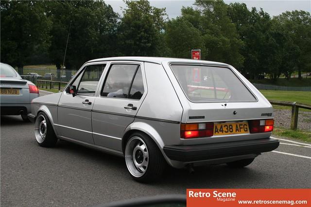 Mk1 Golf On Ats Cups Retro Rides Flickr