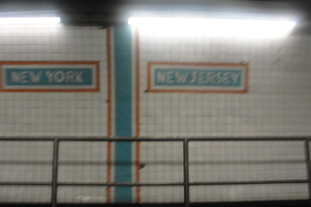 Nj Ny State Line In Holland Tunnel Theresa Arzadon