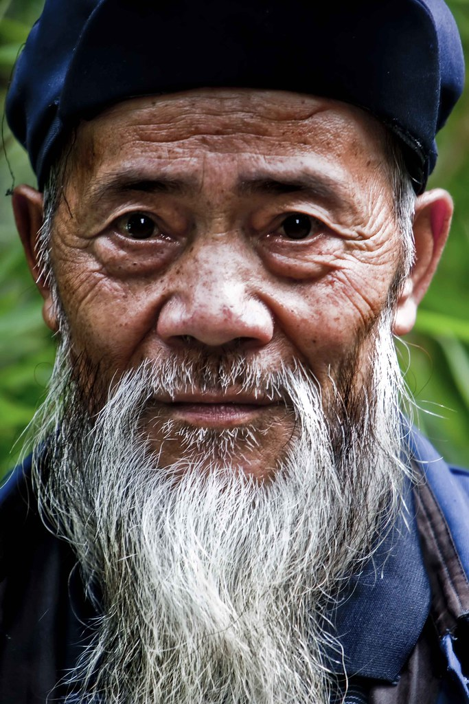 Wise Old Man | I love the character in this man's face, we ... An Old Man Face With Beards Images