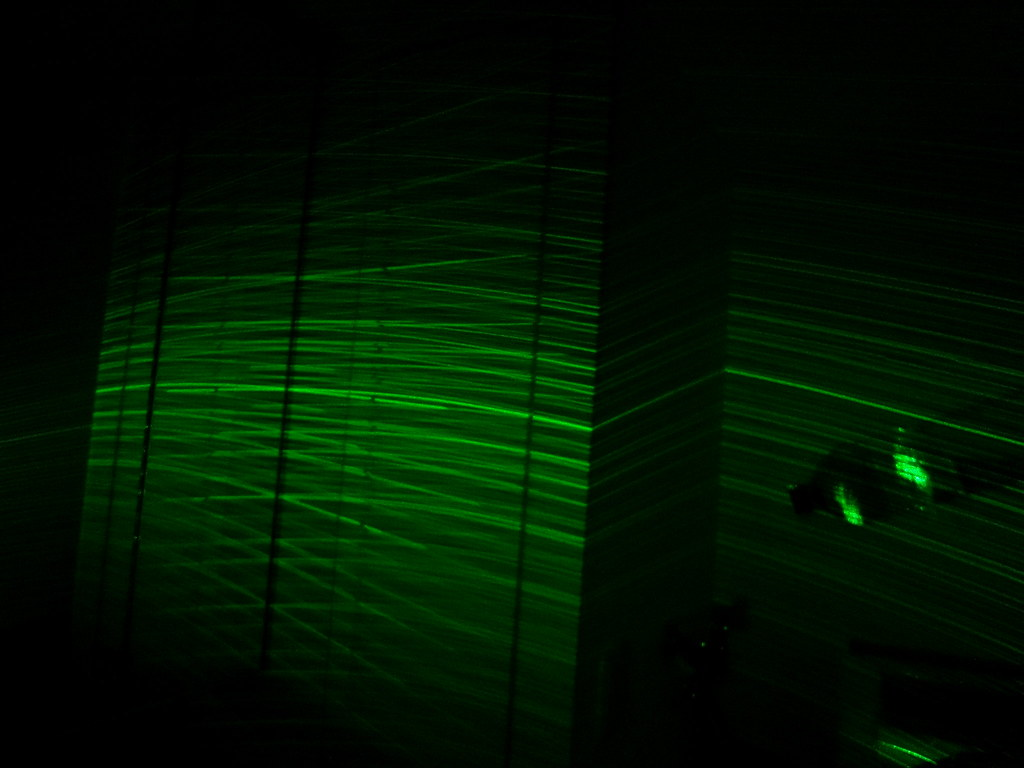 Green laser galaxy wand yukito inoue flickr for Galaxy wand laser