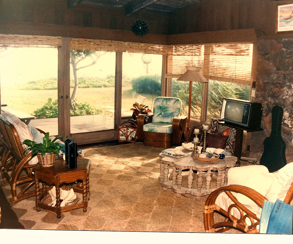 Traditional Hawaii Beach House Living Room Jake And The F