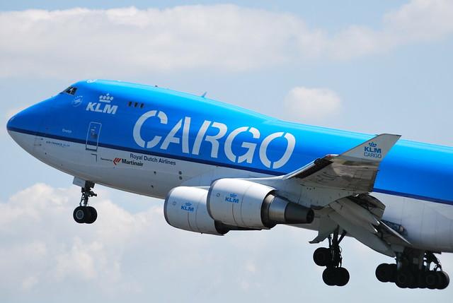 Aviation game klm cargo chicago