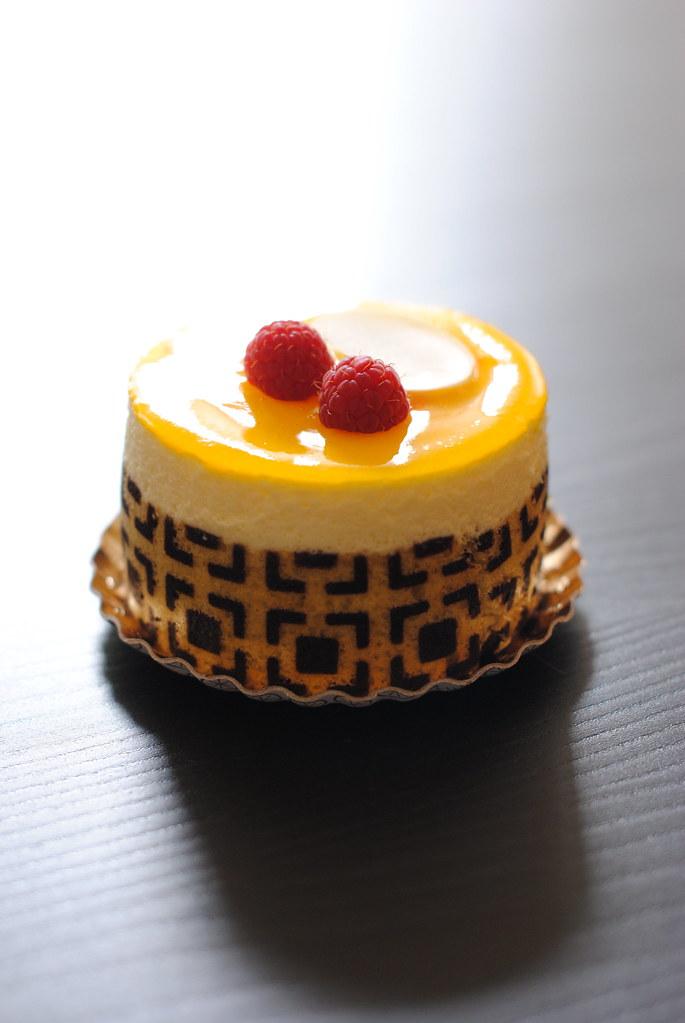 Lemon Mousse Cake With Ladyfingers