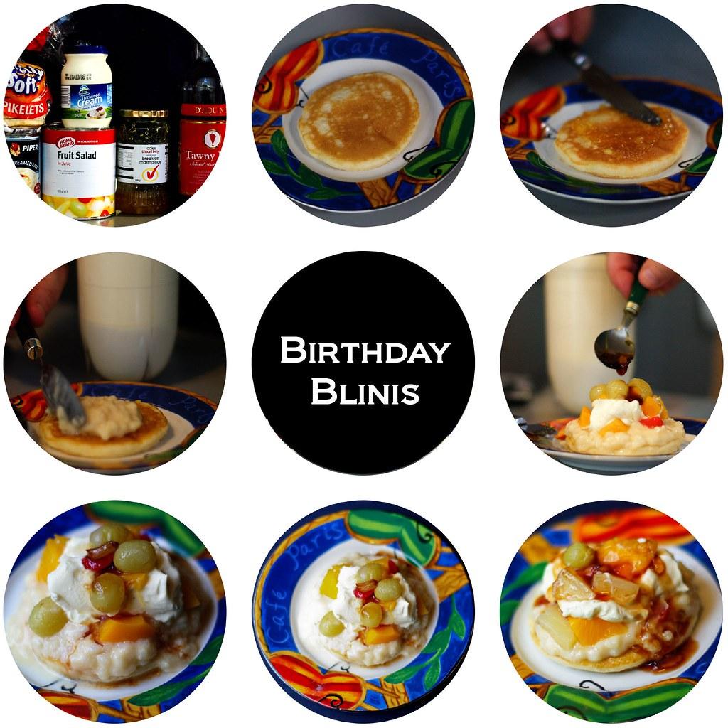 Jam And Cream Sponge Cake With Icing