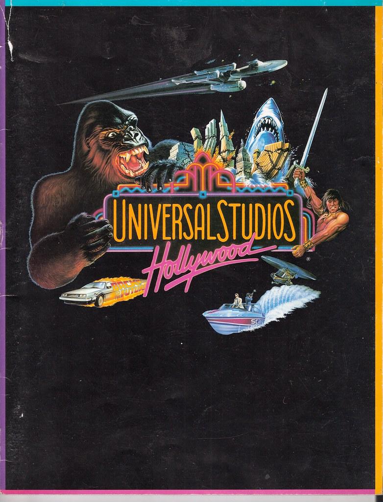 universal studios hollywood 1990 universal studios