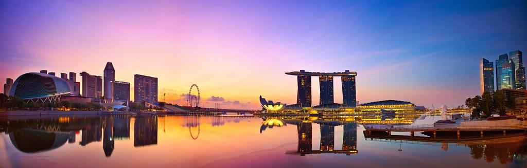 Singapore Skyline Singapore Skyline For Ur Ultimate