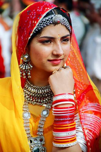 Costumes of Rajasthan   Women's Attire Rajasthani women ...