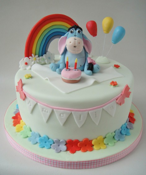 Small Images Of Birthday Cake : Eeyore birthday cake 8