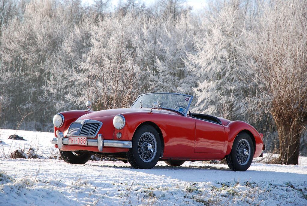 World Of Cars >> MGA in the snow | fre123 | Flickr