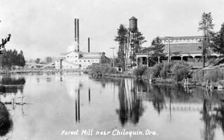 Forest Lumber Company mill near Chiloquin, Oregon | by OSU Special Collections & Archives : Commons