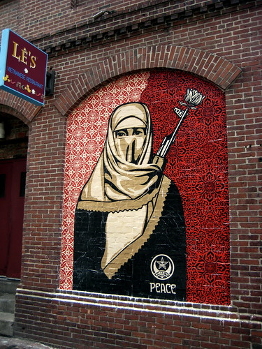 Obey Giant Muslim Woman | by LMGoBlue