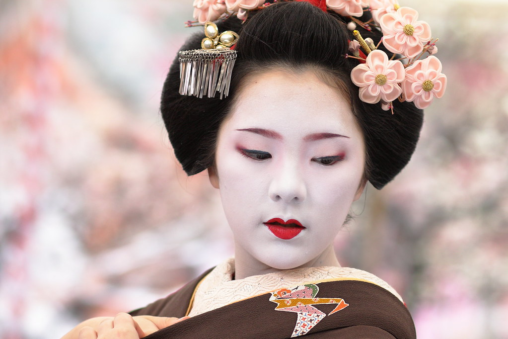Japan Japan The Maiko Ichiteru Michael Chandler Flickr