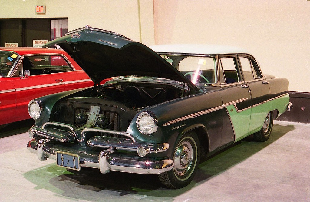 1955 dodge regent 4 door richard spiegelman flickr