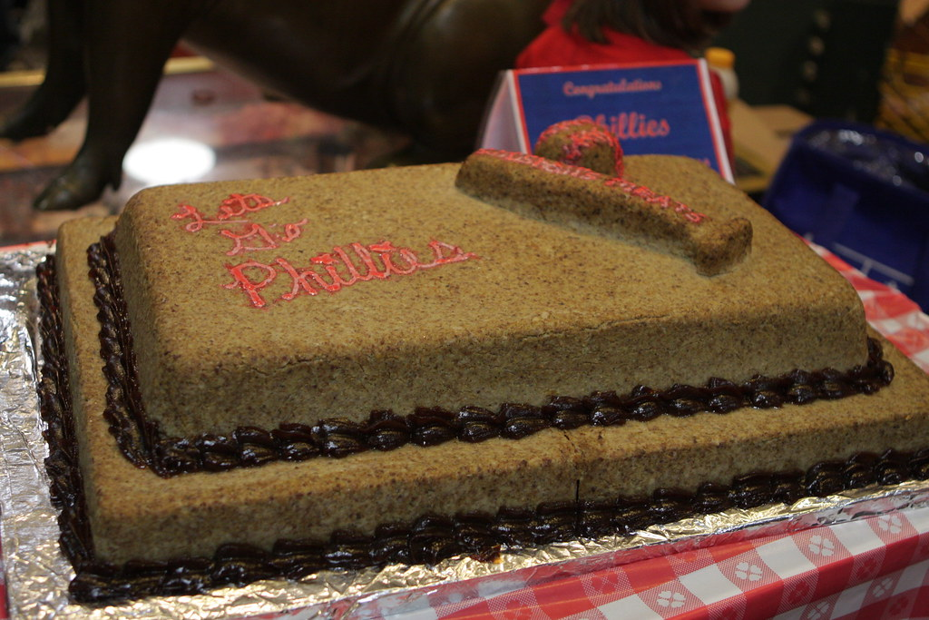 A Cake Made Of Scrapple Scrapplefest At Reading Termina