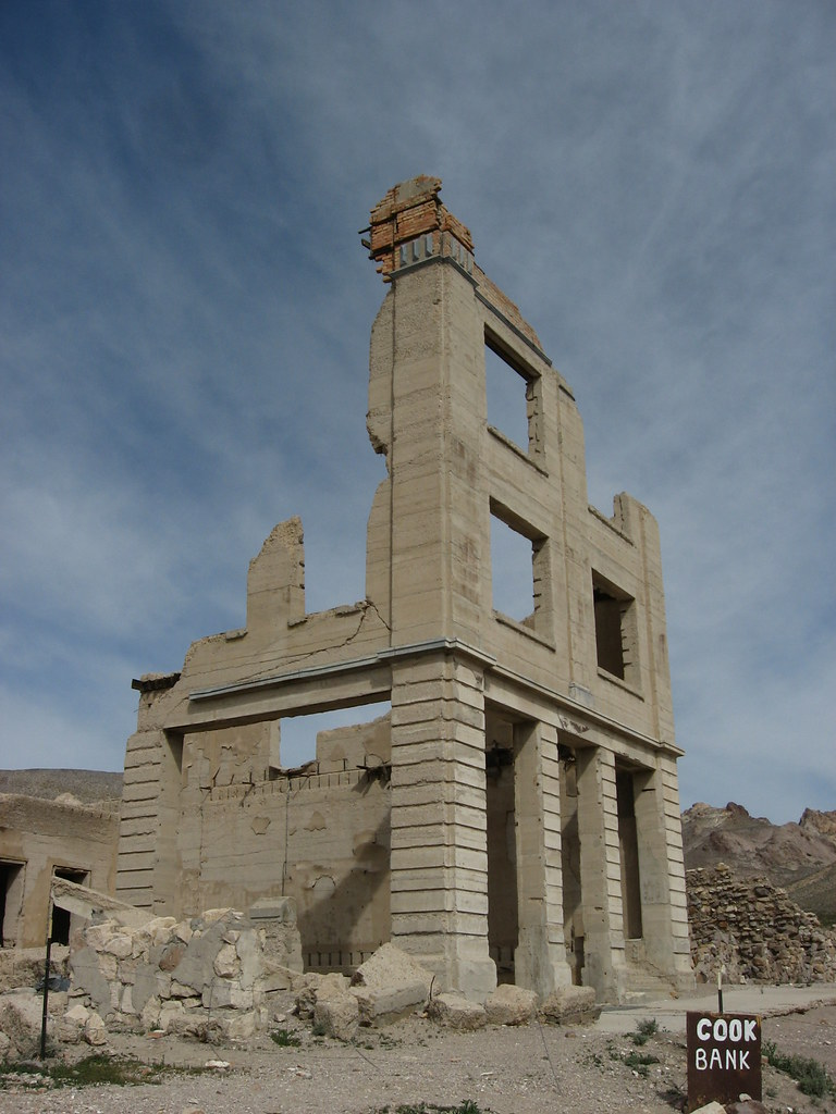 Ghost Town of Rhyolite, Nevada | Rhyolite is a ghost town ...